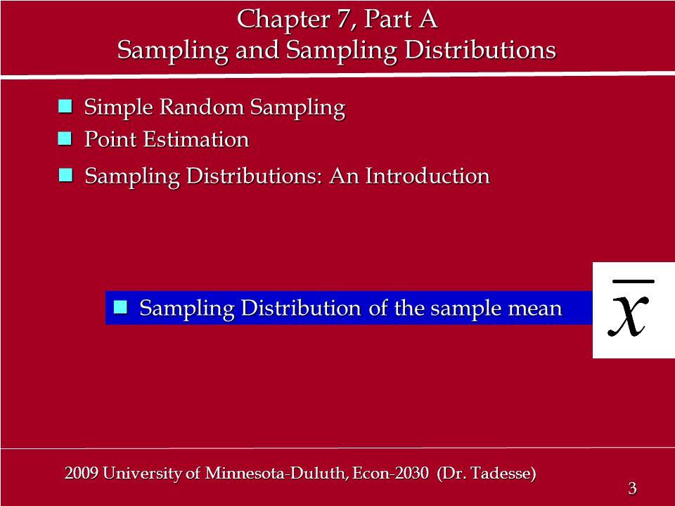 3 3 2009 University of Minnesota-Duluth, Econ-2030 (Dr.