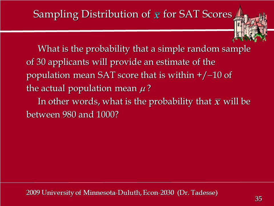 35 2009 University of Minnesota-Duluth, Econ-2030 (Dr.