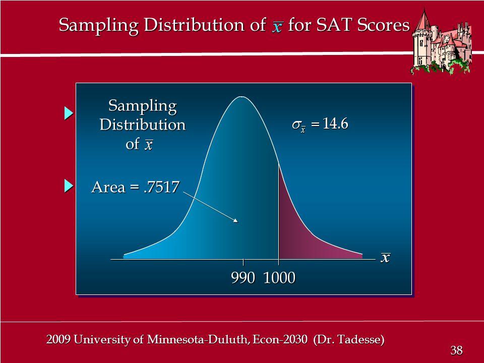 38 2009 University of Minnesota-Duluth, Econ-2030 (Dr.