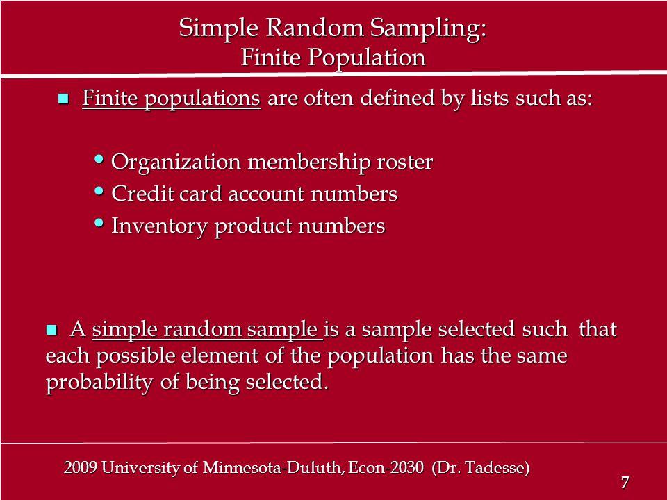 7 7 2009 University of Minnesota-Duluth, Econ-2030 (Dr.