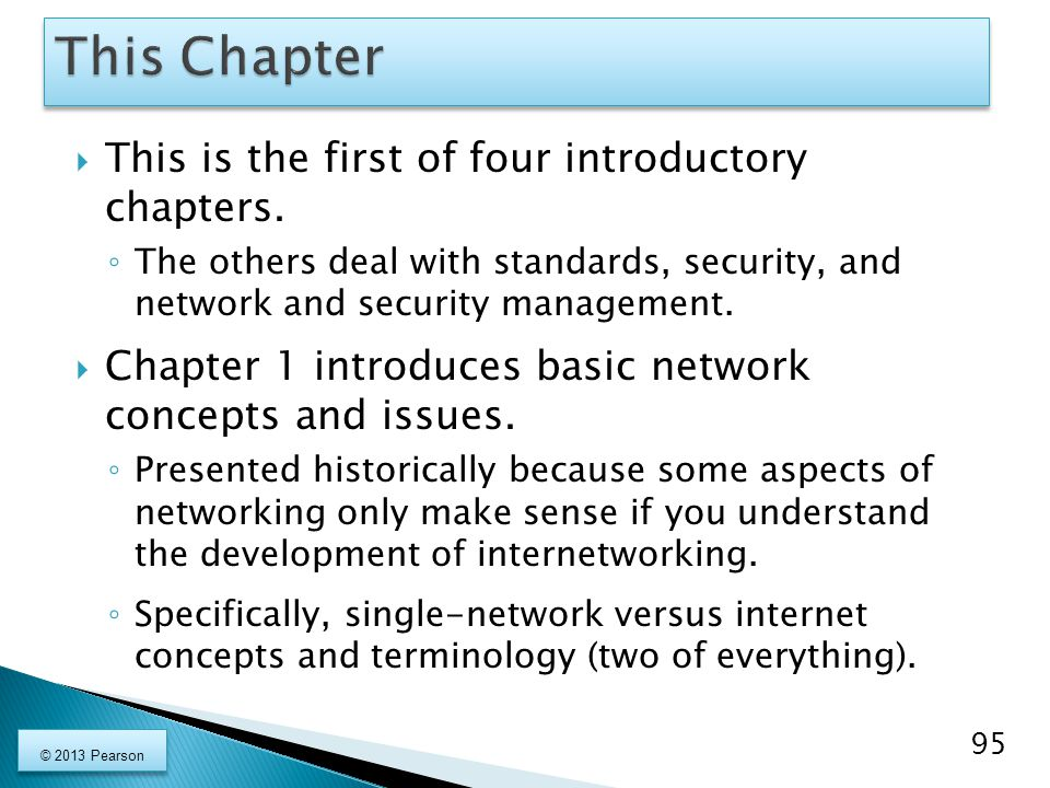  This is the first of four introductory chapters.