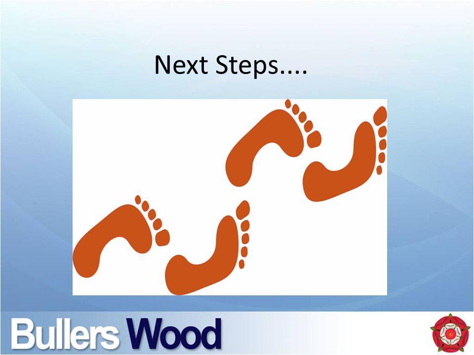 Next Steps....