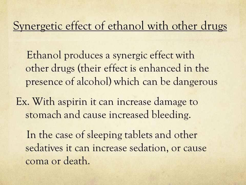 How to detect ethanol 1.