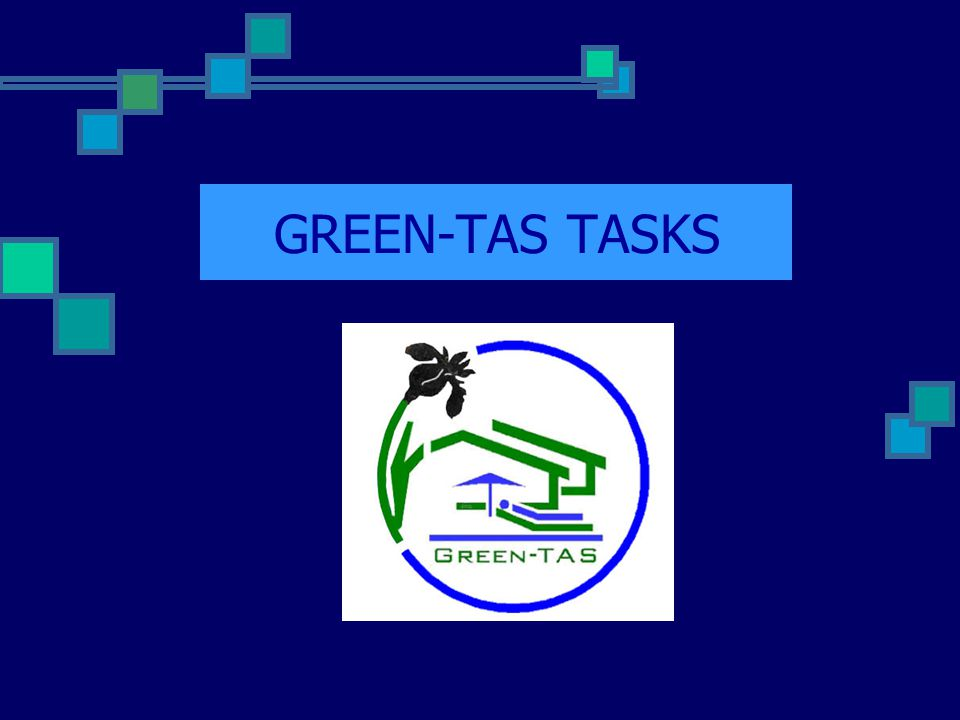 GREEN-TAS TASKS