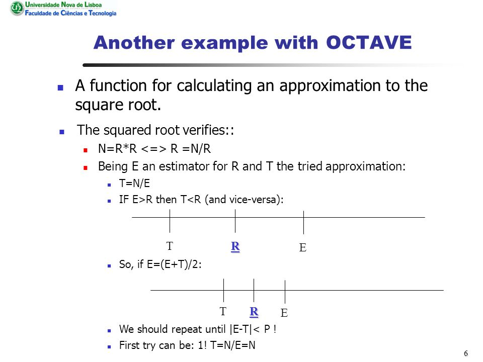16 Analysis of student evaluation Relation between general Octave matrix manipulation and Octave programming.