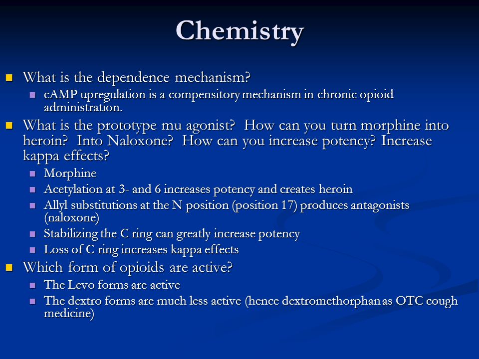 Chemistry What is the dependence mechanism.What is the dependence mechanism.