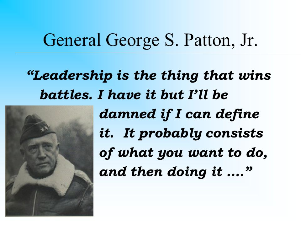 Definitions Lead: To guide or direct in a course Leader: One that leads or guides; one who is in command of others Leadership: capacity or ability to lead