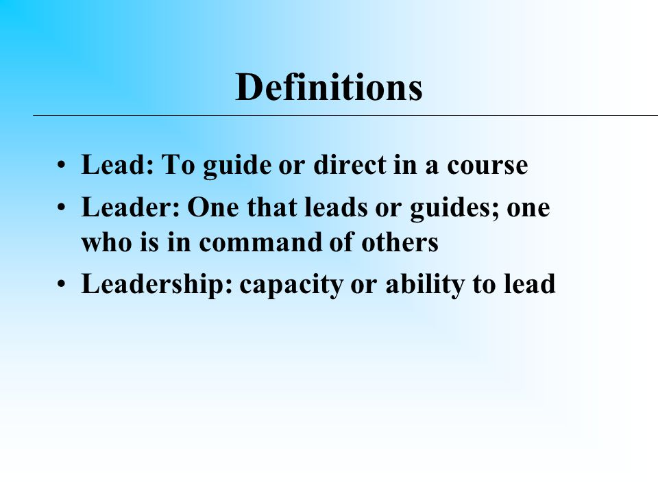 Can you teach leadership.Experiential Learning Situational Learning Pooh on Management - YES !!!.