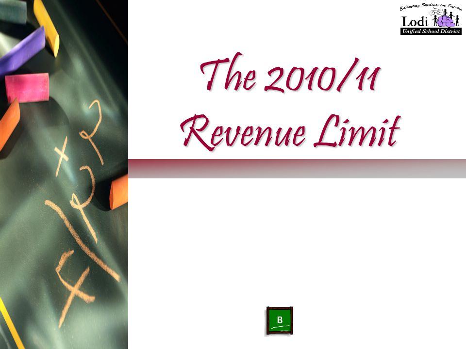 The 2010/11 Revenue Limit B