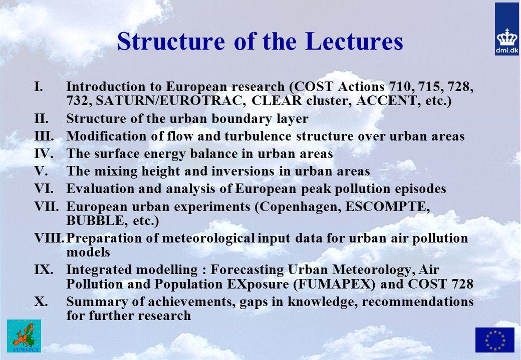 Why Urban Meteorology Now.