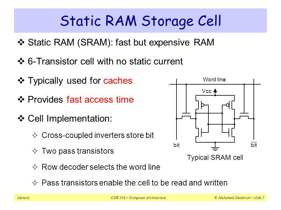 MemoryCOE 308 – Computer Architecture© Muhamed Mudawar – slide 56 Next...