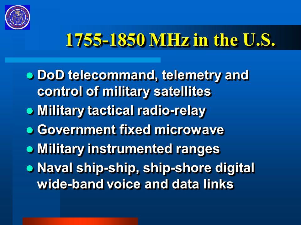1755-1850 MHz in the U.S.
