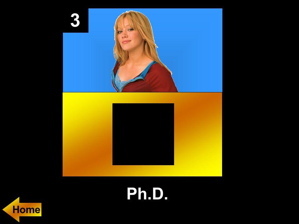 3 Ph.D.