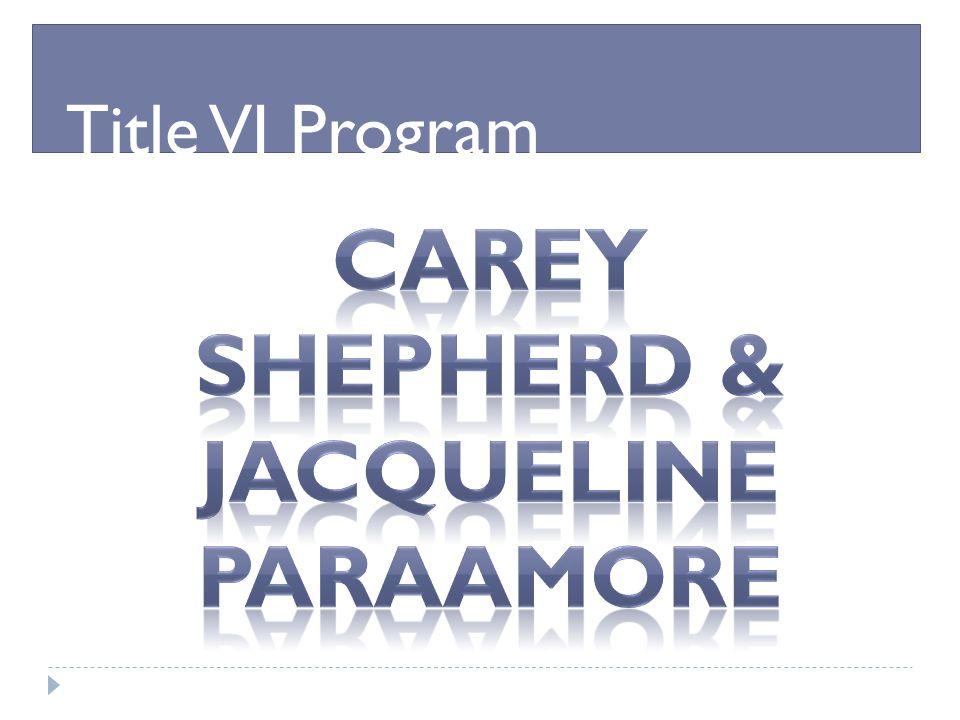 Title VI Program