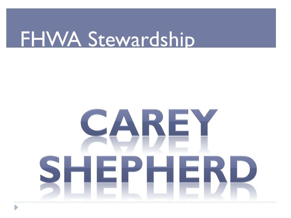 FHWA Stewardship