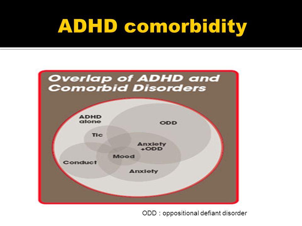 ODD : oppositional defiant disorder