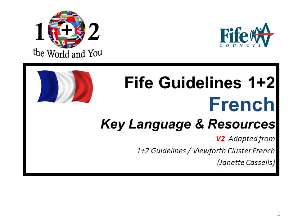 2 French Key Language & Resources General resources for Years 1-7 (P1-7) Tongue Twisters First * Chouettes chaussures P2 – P7 MLAN 2-01a Tongue twisters that focus on sounds that are particular to French.