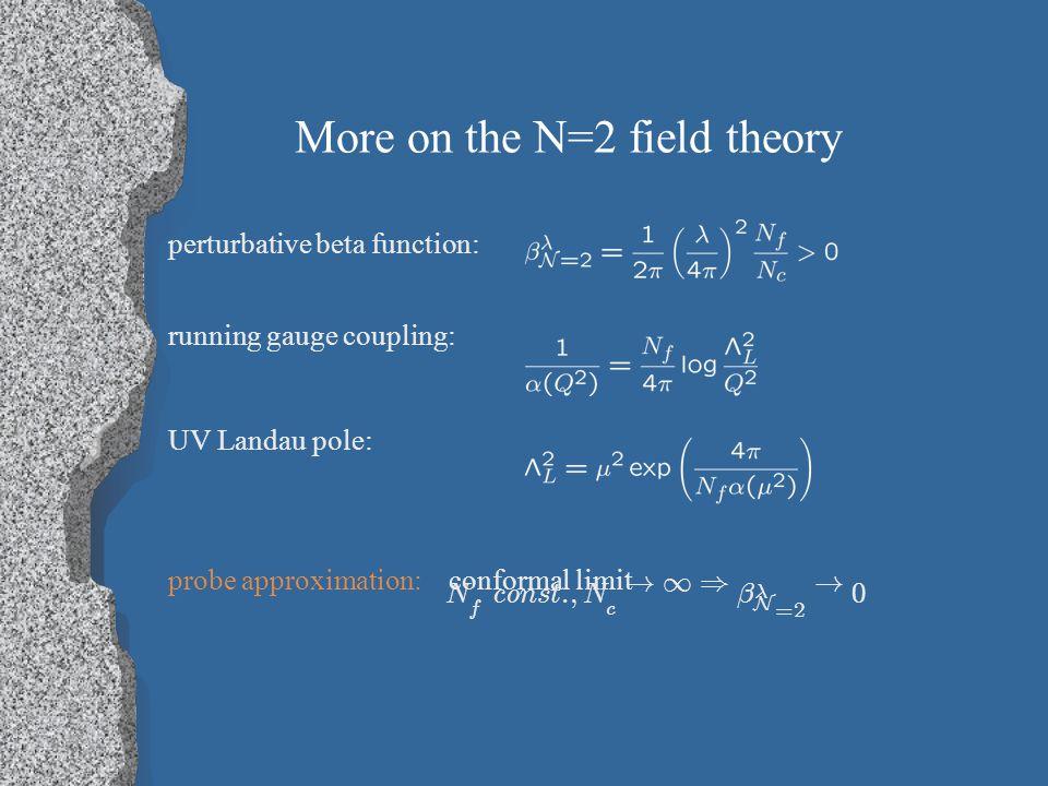 D3/D7 in the probe approximation `t Hooft limit: Karch & Katz (2002)
