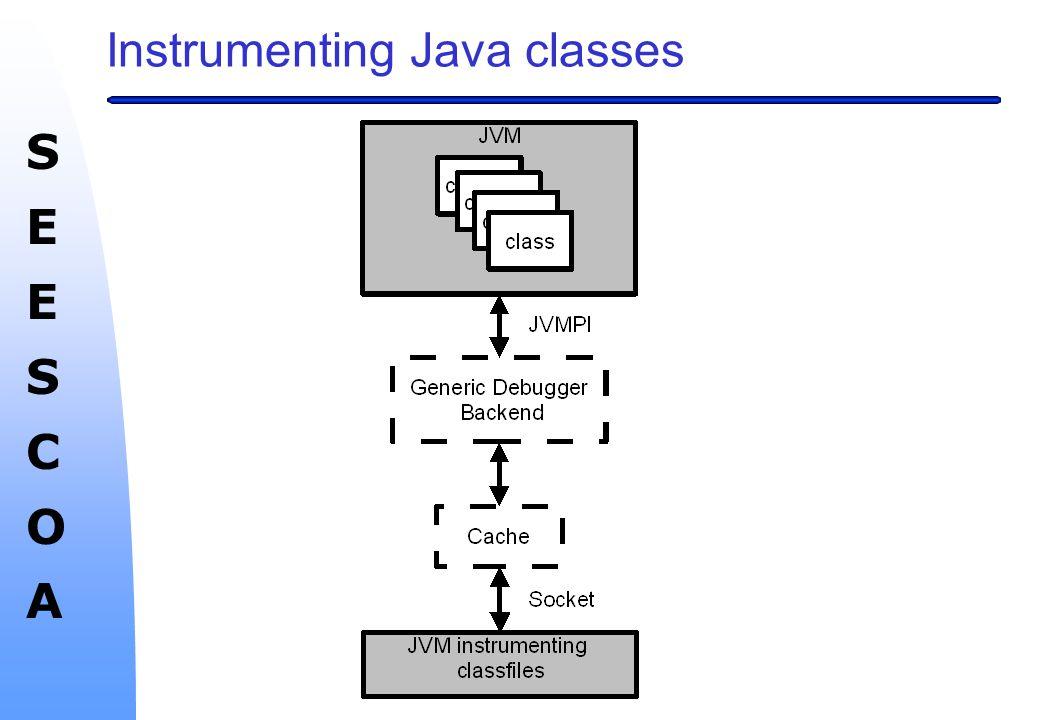 SEESCOASEESCOA Instrumenting Java classes
