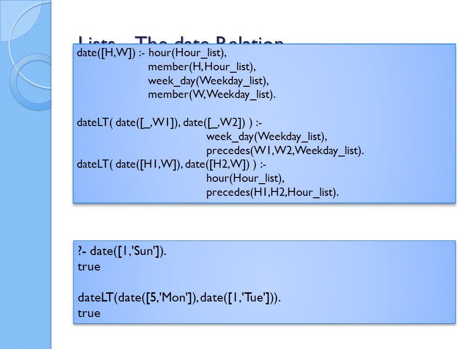 Meta-Circular Interpreter Version 2 Sample converted program: % Signature: solve(Goal)/1 % Purpose: Goal is true if it is true when posed to the original program P.