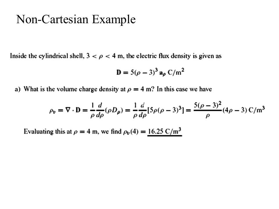Non-Cartesian Example