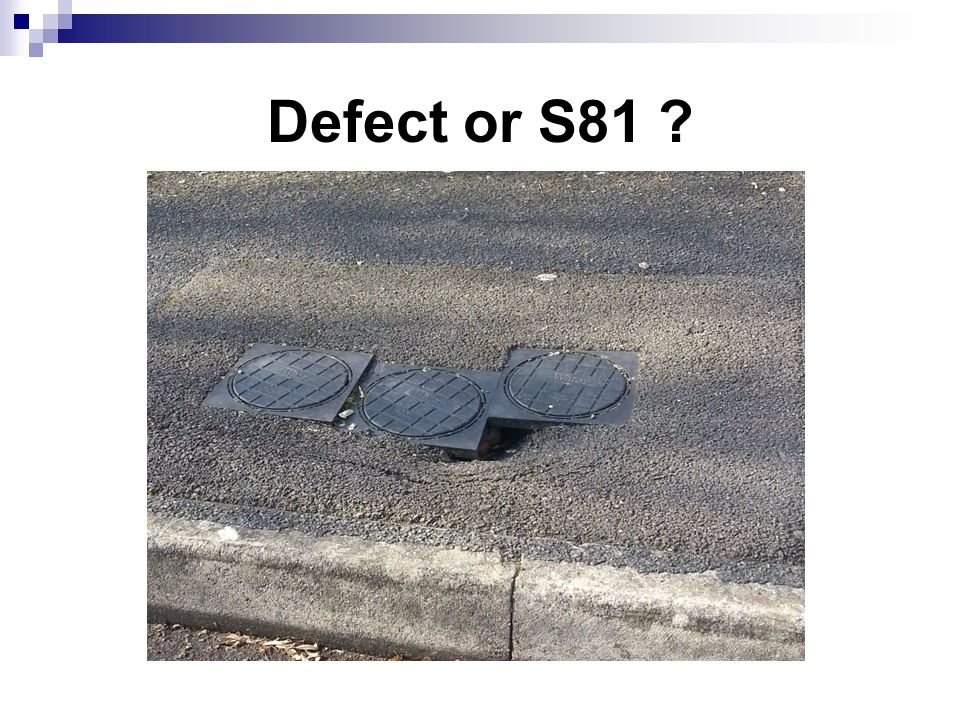 Defect or S81 ?