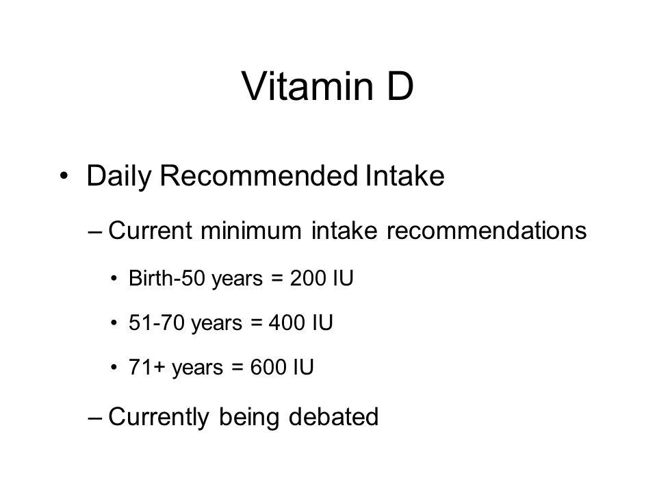Food Sources of Vitamin D 3 oz smoked salmon = 583 IU 3 oz light tuna, canned in oil = 229 IU 1 large, whole egg = 29 IU
