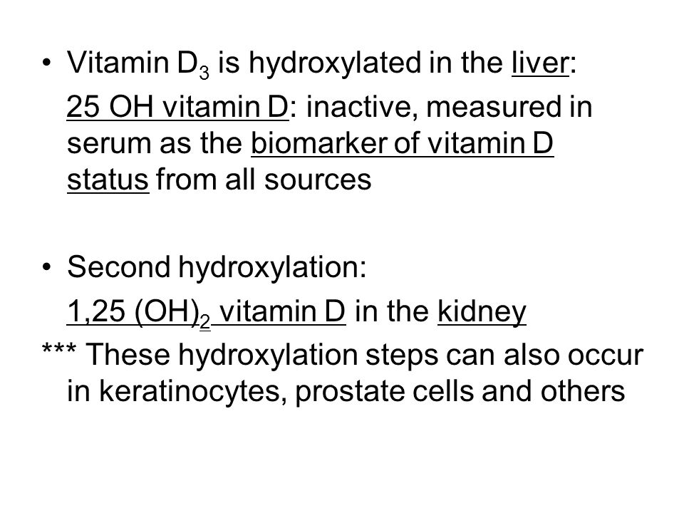 Vitamin D3 can be obtained in diet, or derived from cholesterol in a reaction that requires UV light.