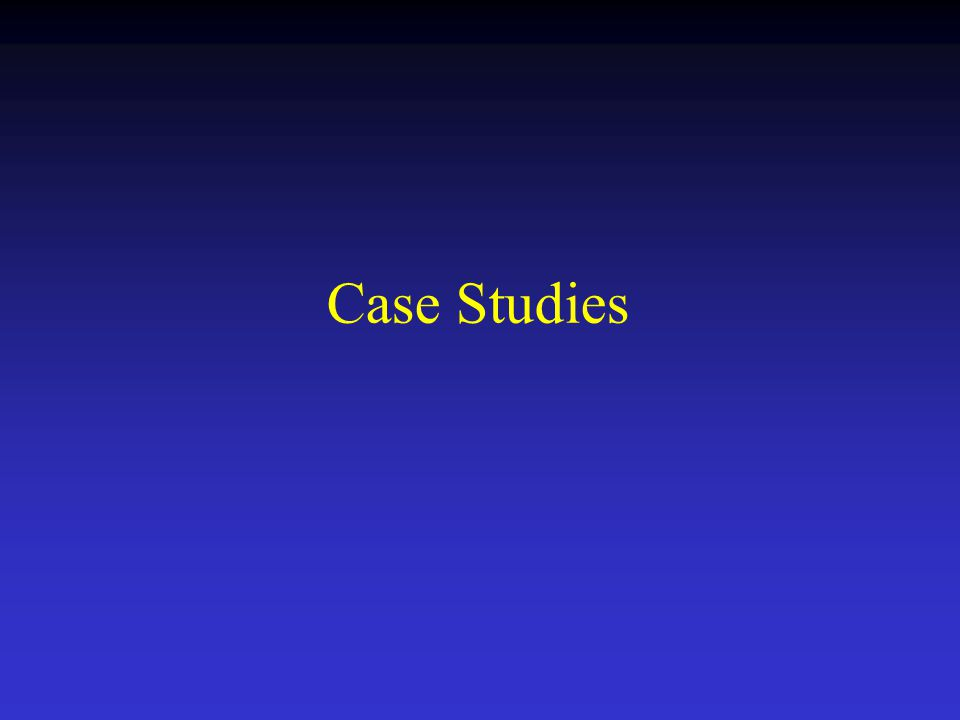 Case Studies