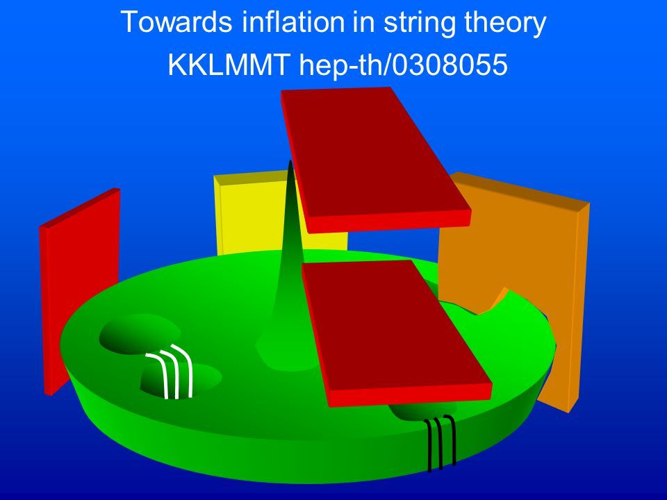 Towards inflation in string theory KKLMMT hep-th/0308055
