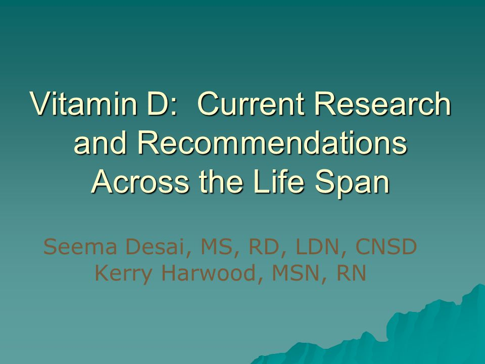 Vitamin D Overview  It is a fat soluble vitamin.