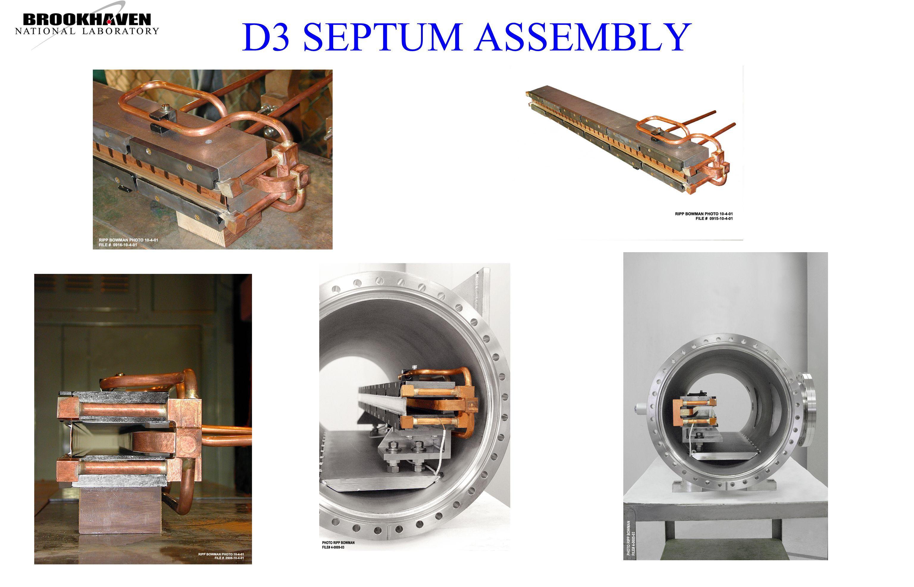 D3 SEPTUM ASSEMBLY