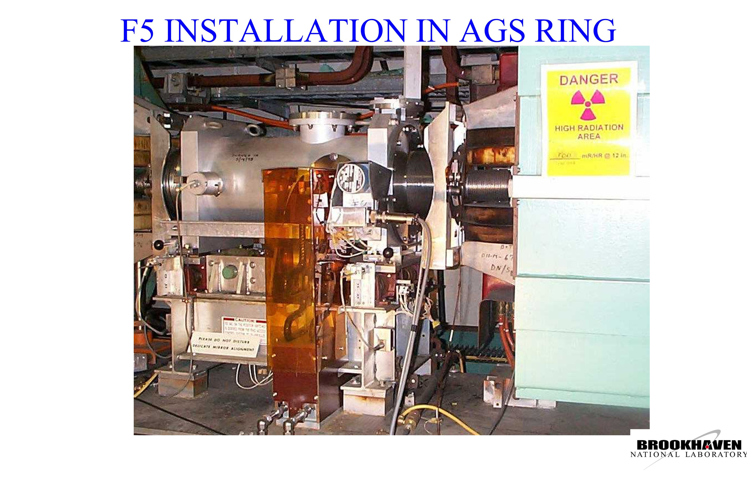 F5 INSTALLATION IN AGS RING