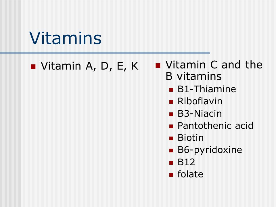 Vitamin D Few foods contain Vit D (fatty fish and eggs) Dermal synthesis or fortified foods (milk) are the main source Two forms of Vitamin D- Ergocalciferol -Vit D2 Cholecalciferol-Vit D3