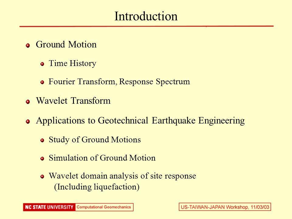 Fourier Transform a 1, w 1 a 3, w 2 a 3, w 3