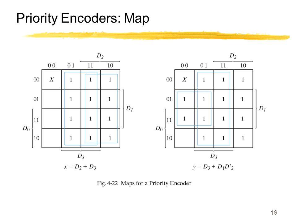 19 Priority Encoders: Map