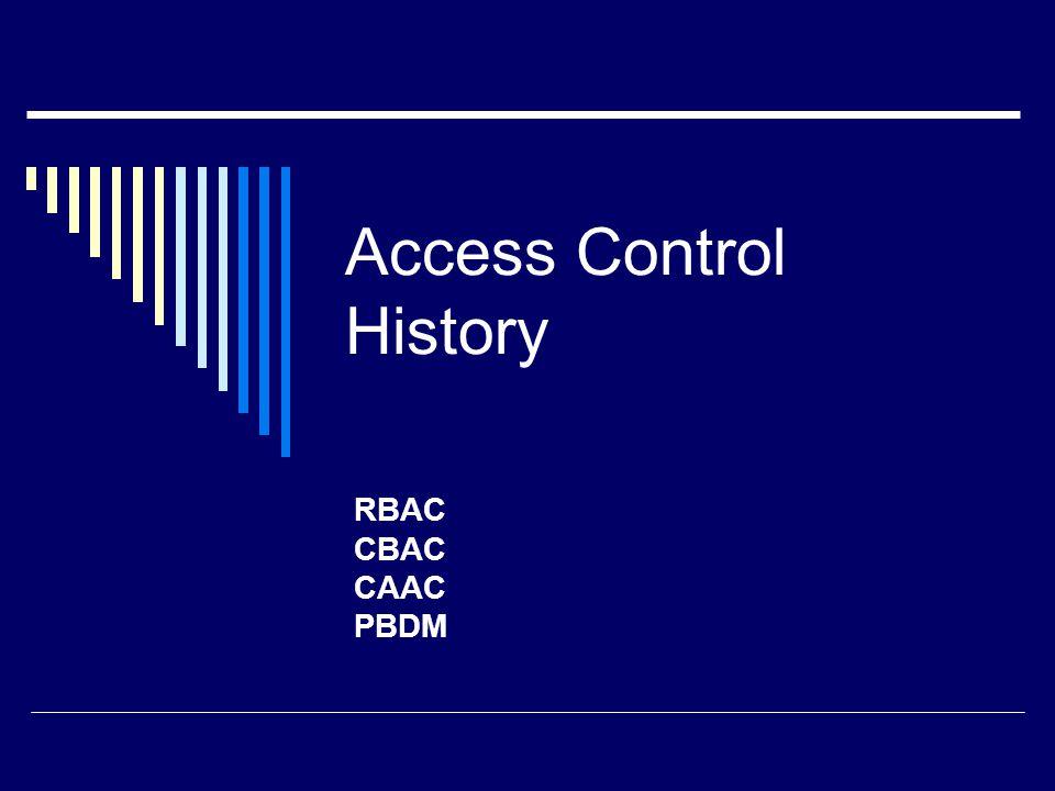 Role-Based Access Control  Sandu et al.