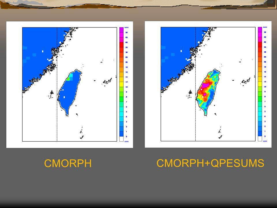 CMORPH CMORPH+QPESUMS