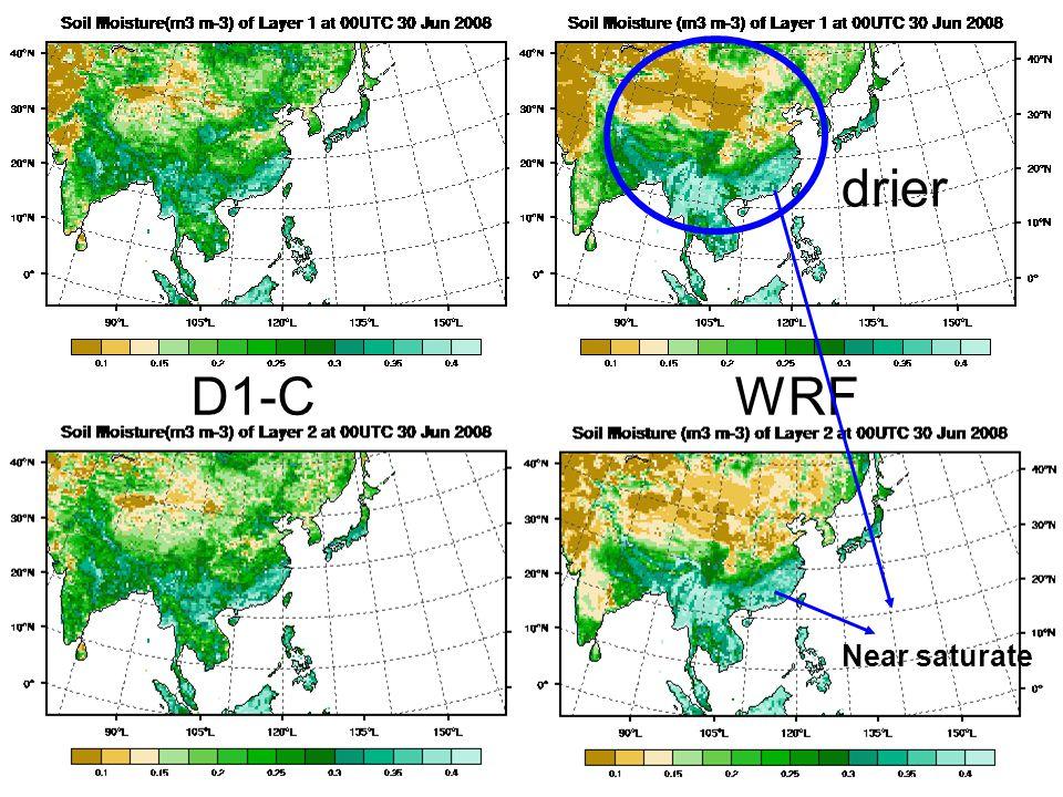 D1-CWRF drier Near saturate
