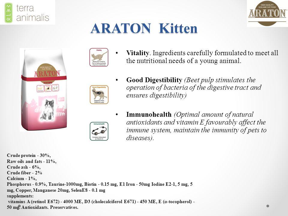 ARATON Kitten Vitality.