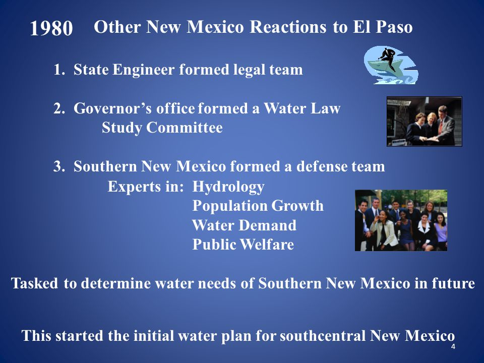 Advantages of D3 1951-1978 baseline is used Texas' EPCWID and Mexico are protected from depletions in New Mexico Consistent with Texas' EPCWID's adjudicated water right New Mexico maintains flexibility in surface water and groundwater conjunctive management Defensible position for New Mexico