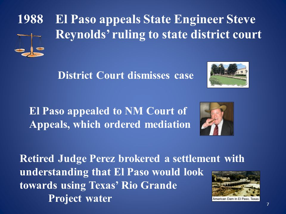 28 LRGWUO Tasks El Paso/Las Cruces Regional Water Project funded by U.S.