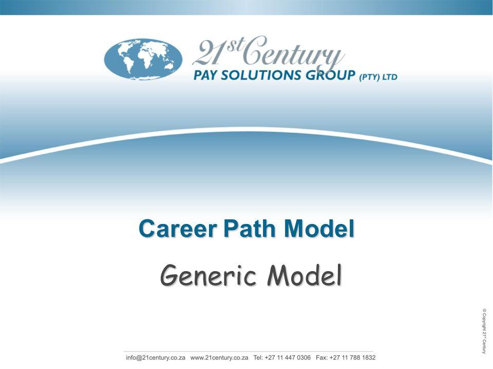 Career Path Model Generic Model