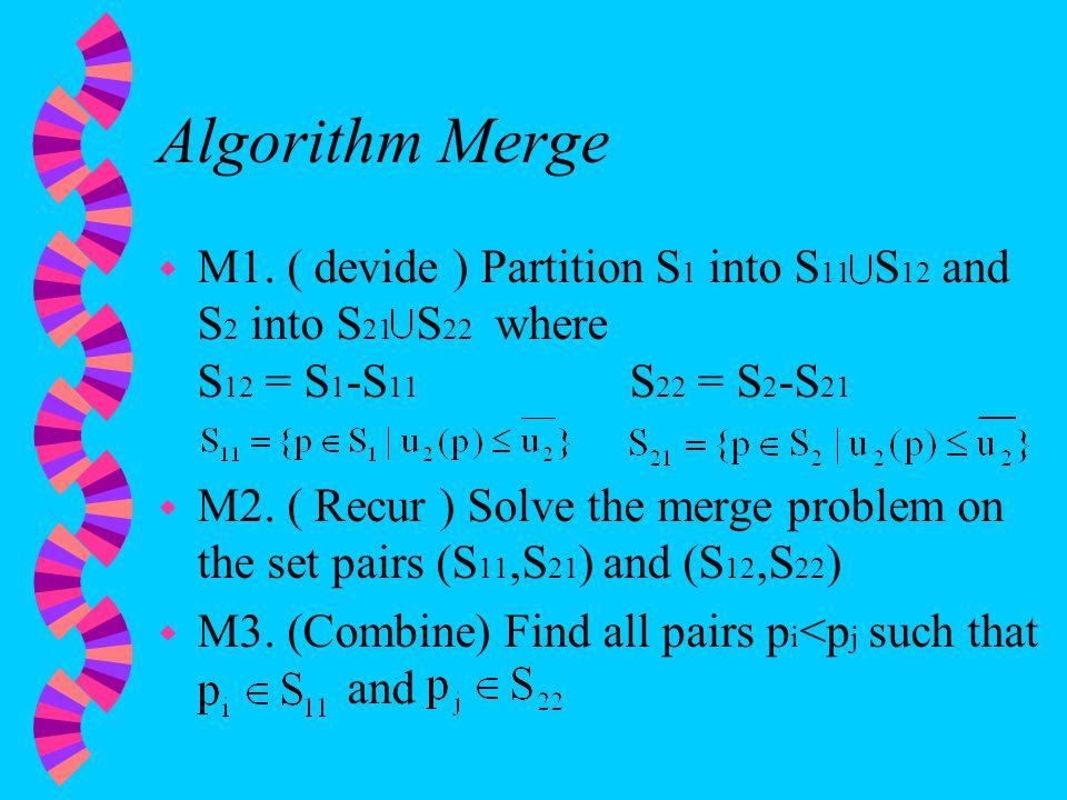 Algorithm Merge w M1.