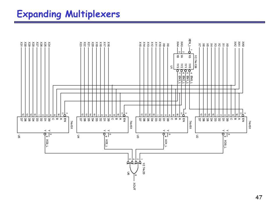 47 Expanding Multiplexers