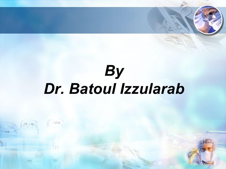 By Dr. Batoul Izzularab 4 3