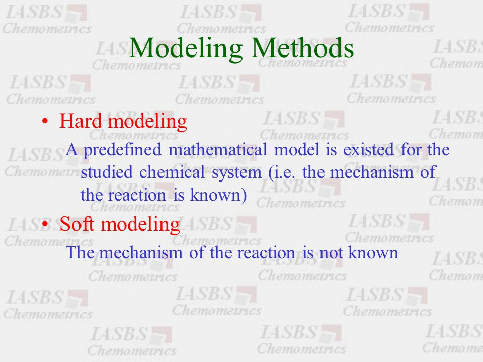 Basic Goals of MCR 1.Determining the number of components coexisted in the chemical system 2.Extracting the pure spectra of the components (qualitative analysis) 3.Extracting the concentration profiles of the components (quantitative analysis)