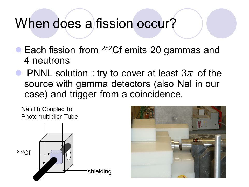 When does a fission occur.