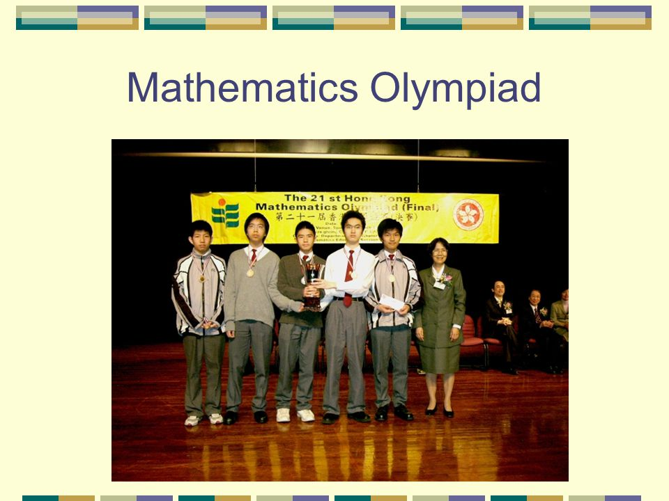 Mathematics Olympiad