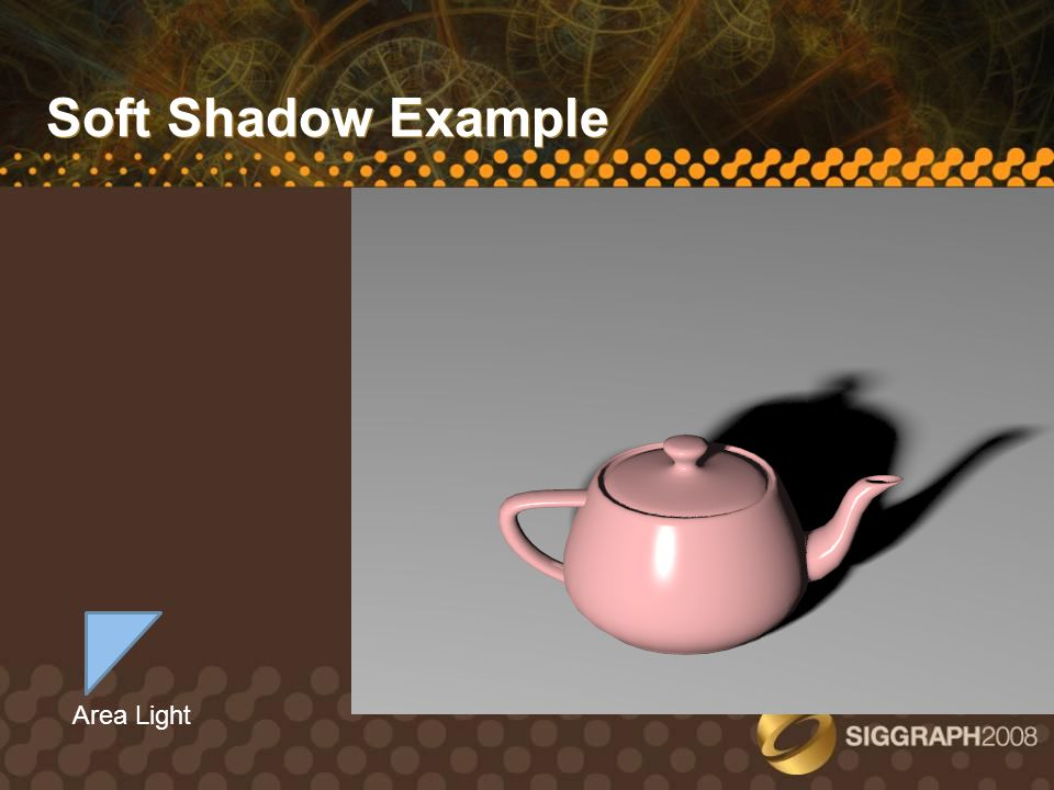 Hard Shadows from 3 Point Lights with Shadow Maps